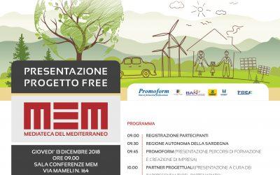 Conferenza di presentazione del progetto FREE